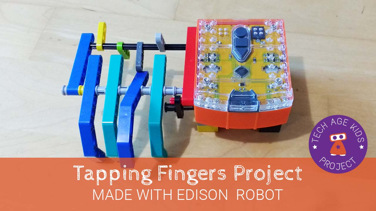 Lego Tapping Fingers With Edison Robot Tech Age Kids Technology