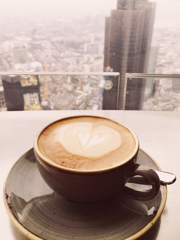 what to do on a london layover duck and waffle coffee