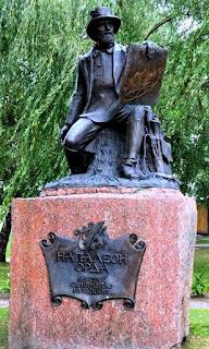 Pomnik Napoleona Ordy w Janowie Poleskim