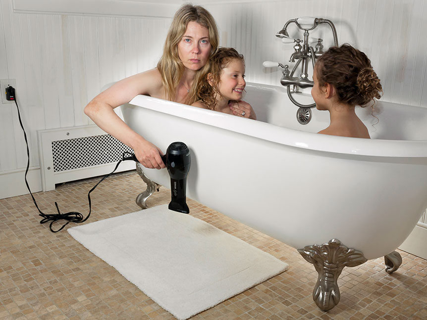 ©Susan Copich - Domestic Bliss (Bath Time - Zoom)