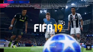 FTS 19 UCL Full Top Europe League Mod APK OBB+Data Update