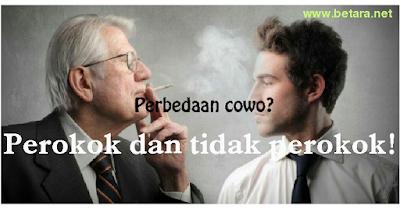 perbedaan cowo perokok dan tidak perokok