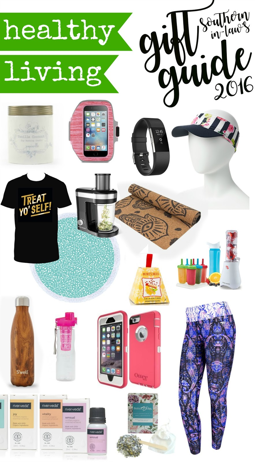 Healthy Christmas Gift Ideas Part - 33: The Best Fitness Gift Ideas For Healthy Living 2016 - Womenu0027s Christmas Gift  Guide, Gift