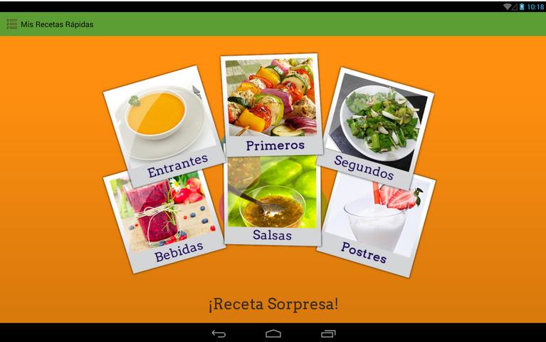 App gratuita de Mis Recetas: Recetas rápidas
