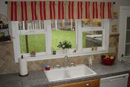 Kitchen Valances for Best Window Treatment