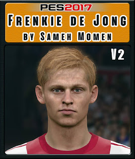 PES 2017 Faces Frenkie de Jong by Sameh Momen
