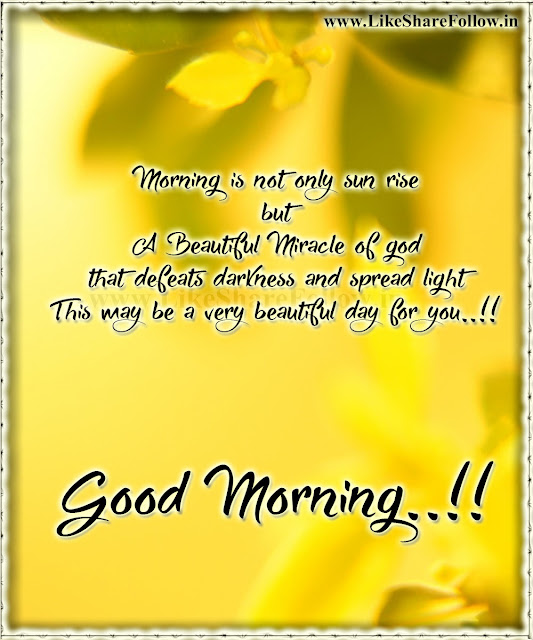Beautiful Good morning messages for whatsapp