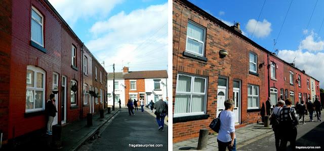 Arnold Grove, local da primeira residência de George Harrison em Liverpool