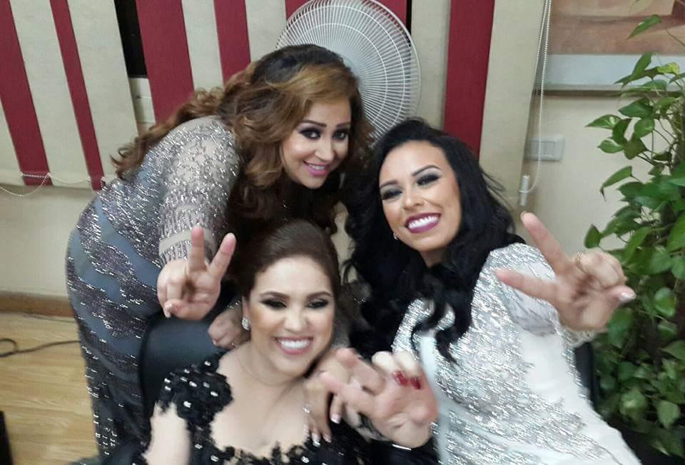 """مروى ناجي تعبر عن سعادتها بحضور """"الرئيس عبد الفتاح السيسي """""""