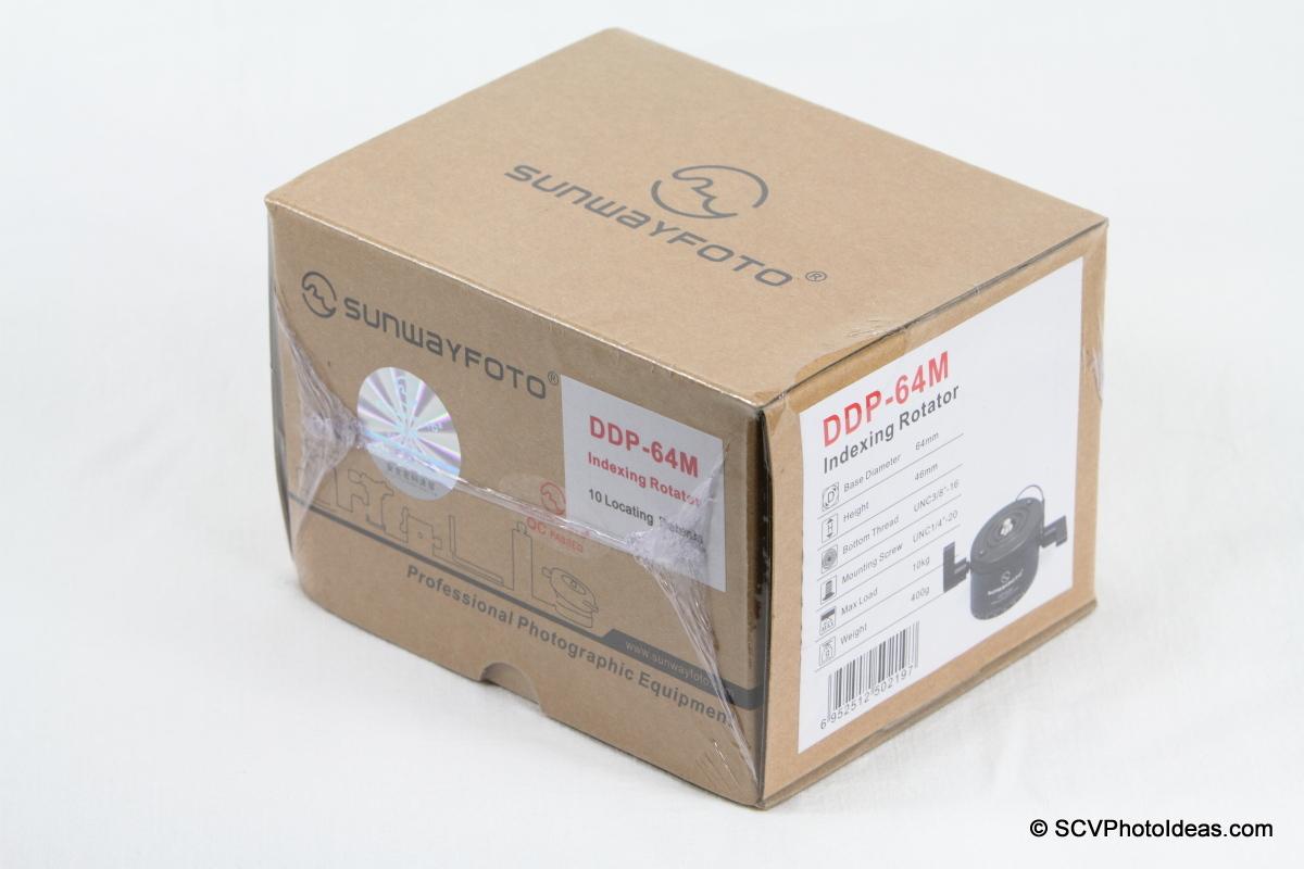 Sunwayfoto DDP-64M PIR box - wrapped