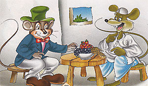 فأر القرية و فأر المدينة
