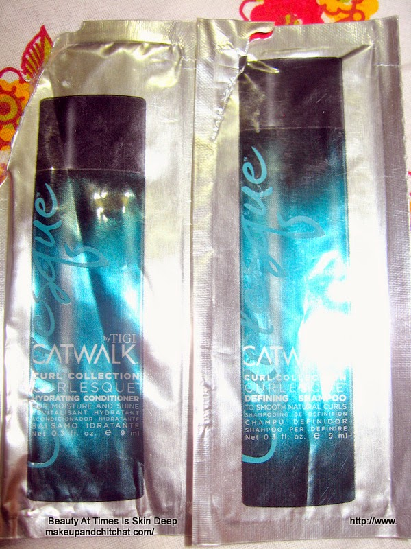 TIGI Catwalk Curl Collection Curlesque Shampoo and Conditioner