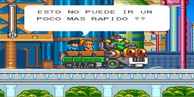 Megaman 7 [Español] - Captura 1