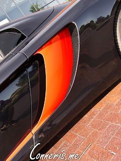McLaren 12C Side Scoop Detail