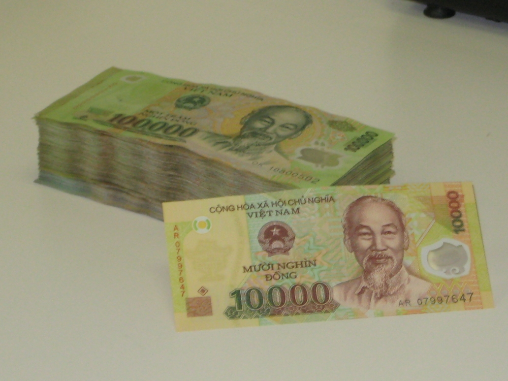 Million Vietnam Dong 100 000unc Notes