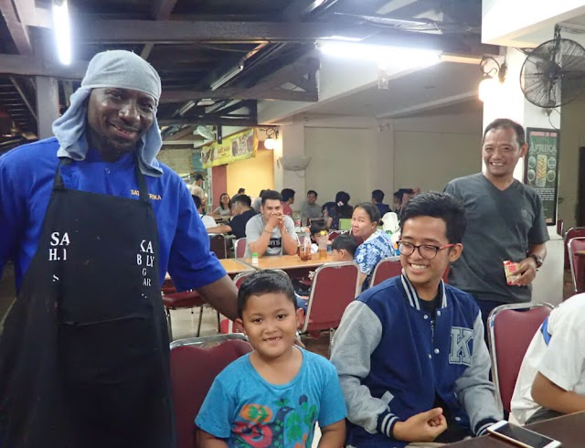Nikmatnya Sate Afrika H. Ismail Coulibaly di La Piazza, Kelapa Gading, Jakarta
