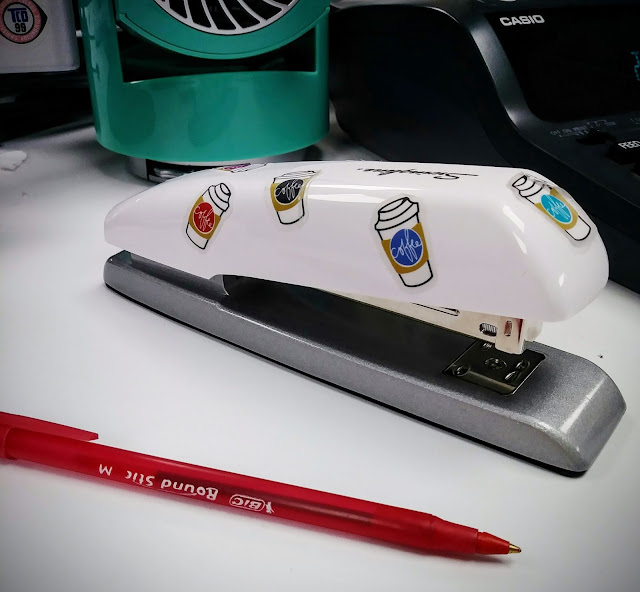 DIY decorated Swingline stapler