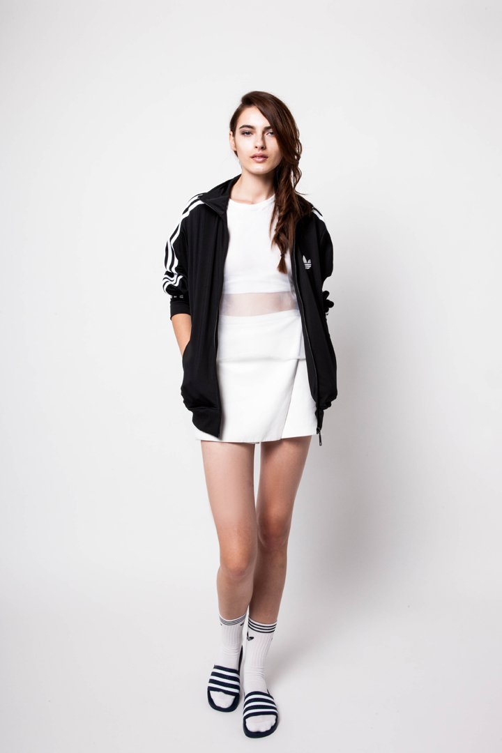 ciabatte adidas outfit