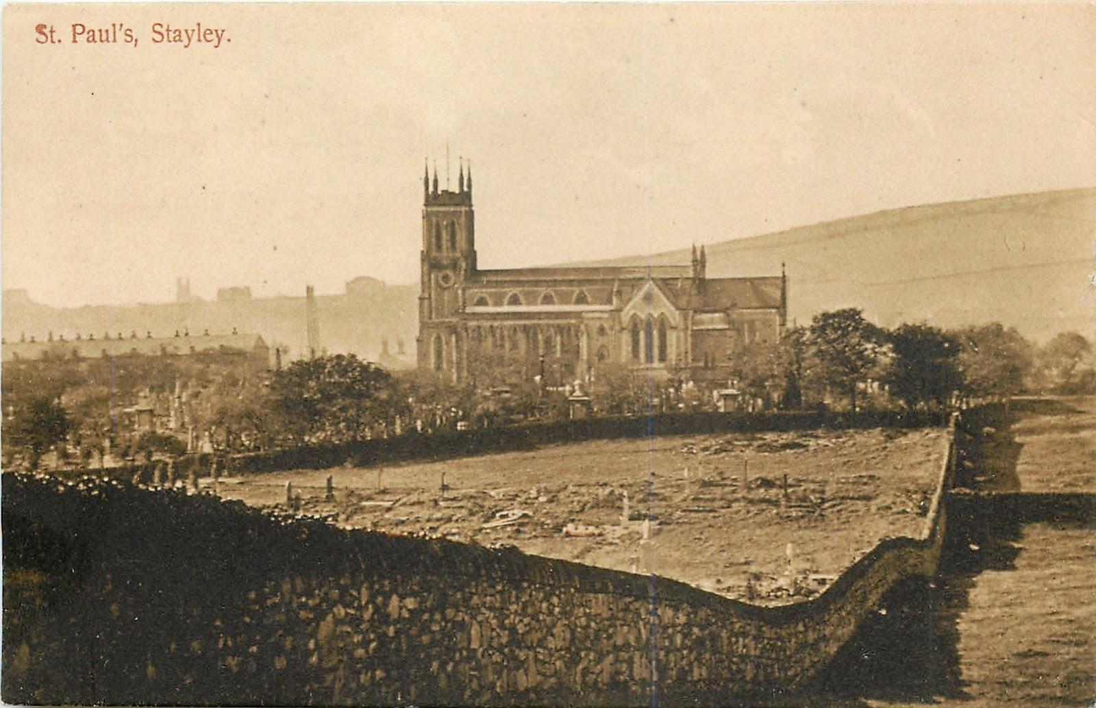 Andrew Simpson St Paul s in Stalybridge around 1909