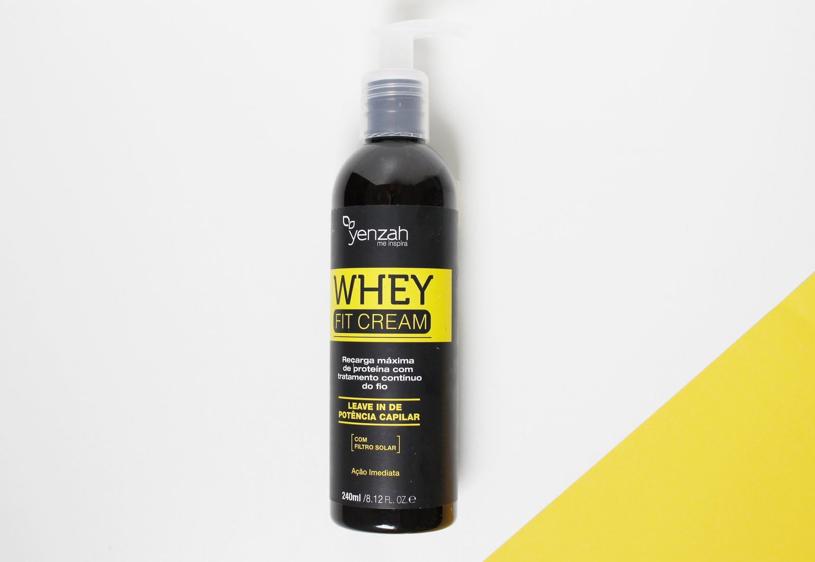 Whey Fit Cream Yenzah - Blog CrisFelix