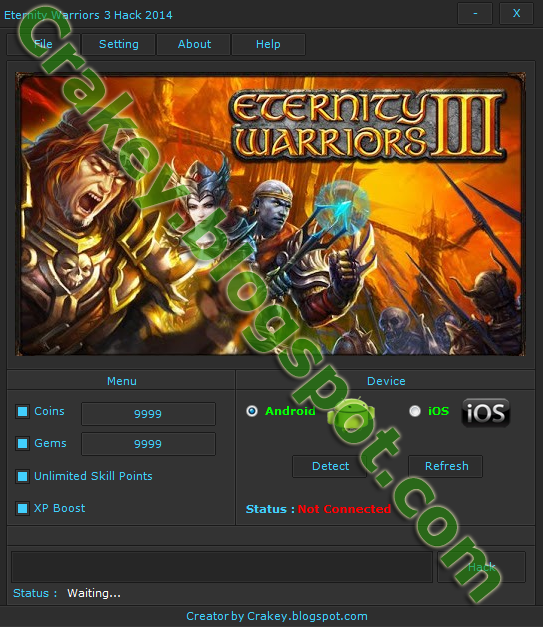 Eternity Warriors 3 Hack Android