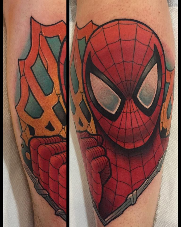Spoiler free movie sleuth news tattoos and paintings of for Tattoo columbus ohio