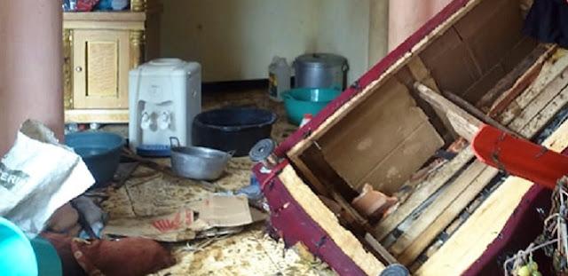 Pria Sukabumi yang Bakar Rumah Ditangkap setelah 4 Jam Dikepung