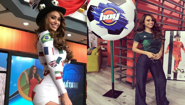 World's sexiest weather girl and mexican Yanet Garcia