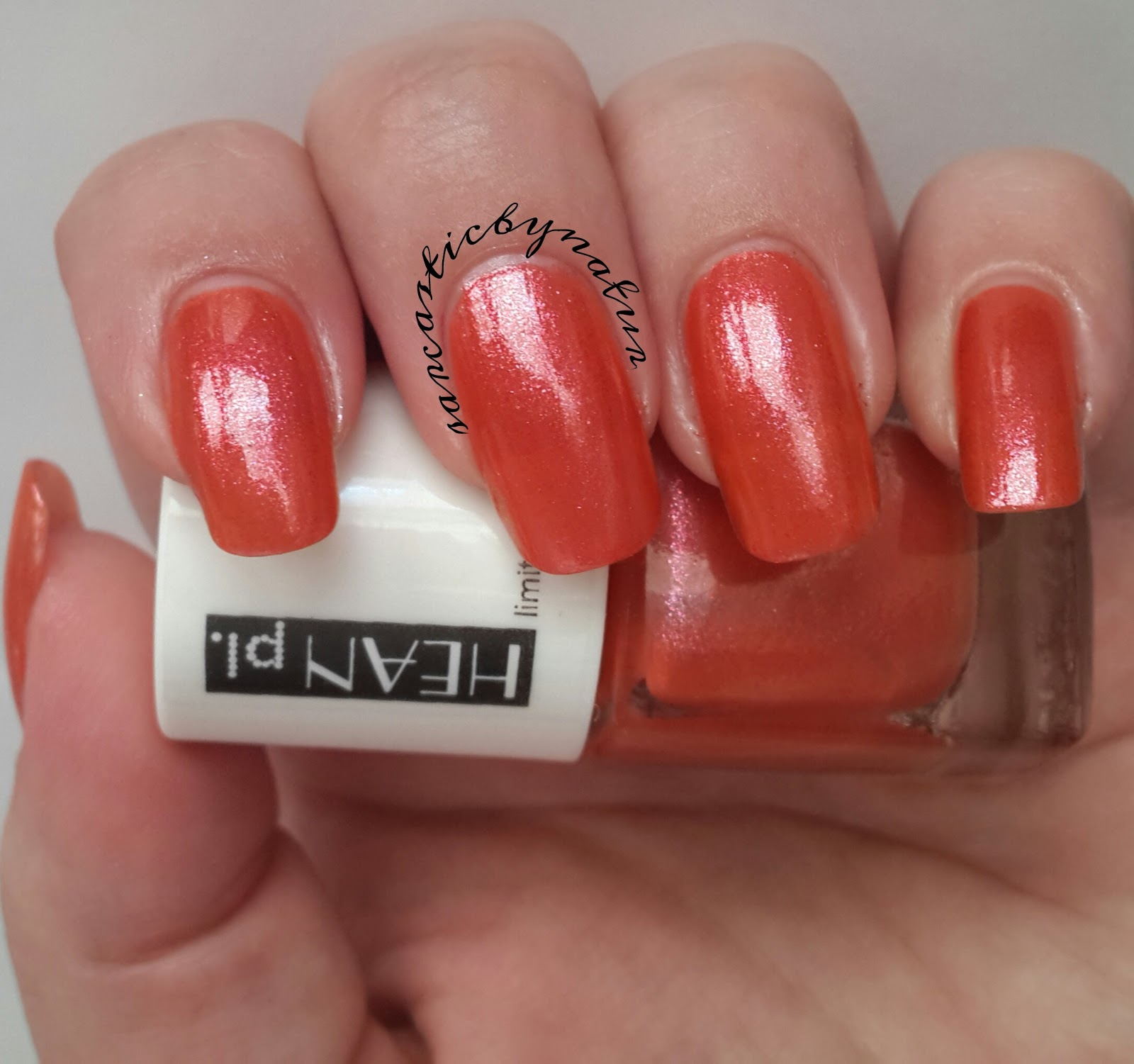 Sarcastic By Nature: Hean nail polish #275 - Jungle Pop collection