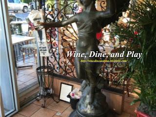 The entrance to Columbia restaurant in Sarasota, Florida