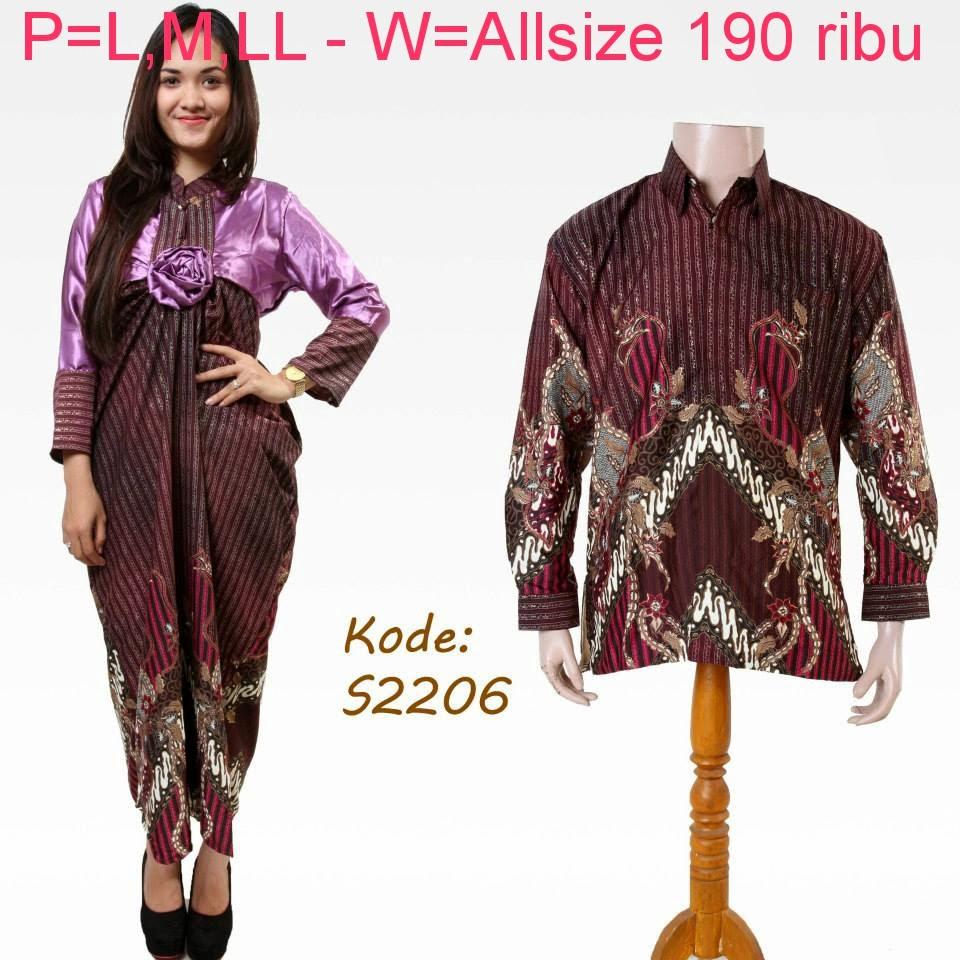 Baju Couple Batik Pesta: Baju Batik Couple Keluarga