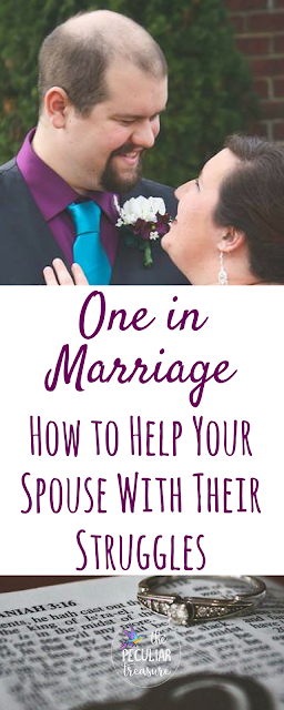 How can we help our spouses with their struggles? I've got some tips for you over on The Peculiar Treasure.
