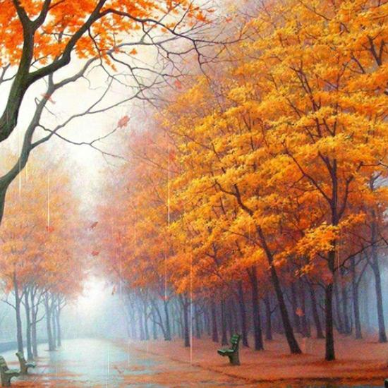 Autumn Walk Wallpaper Engine