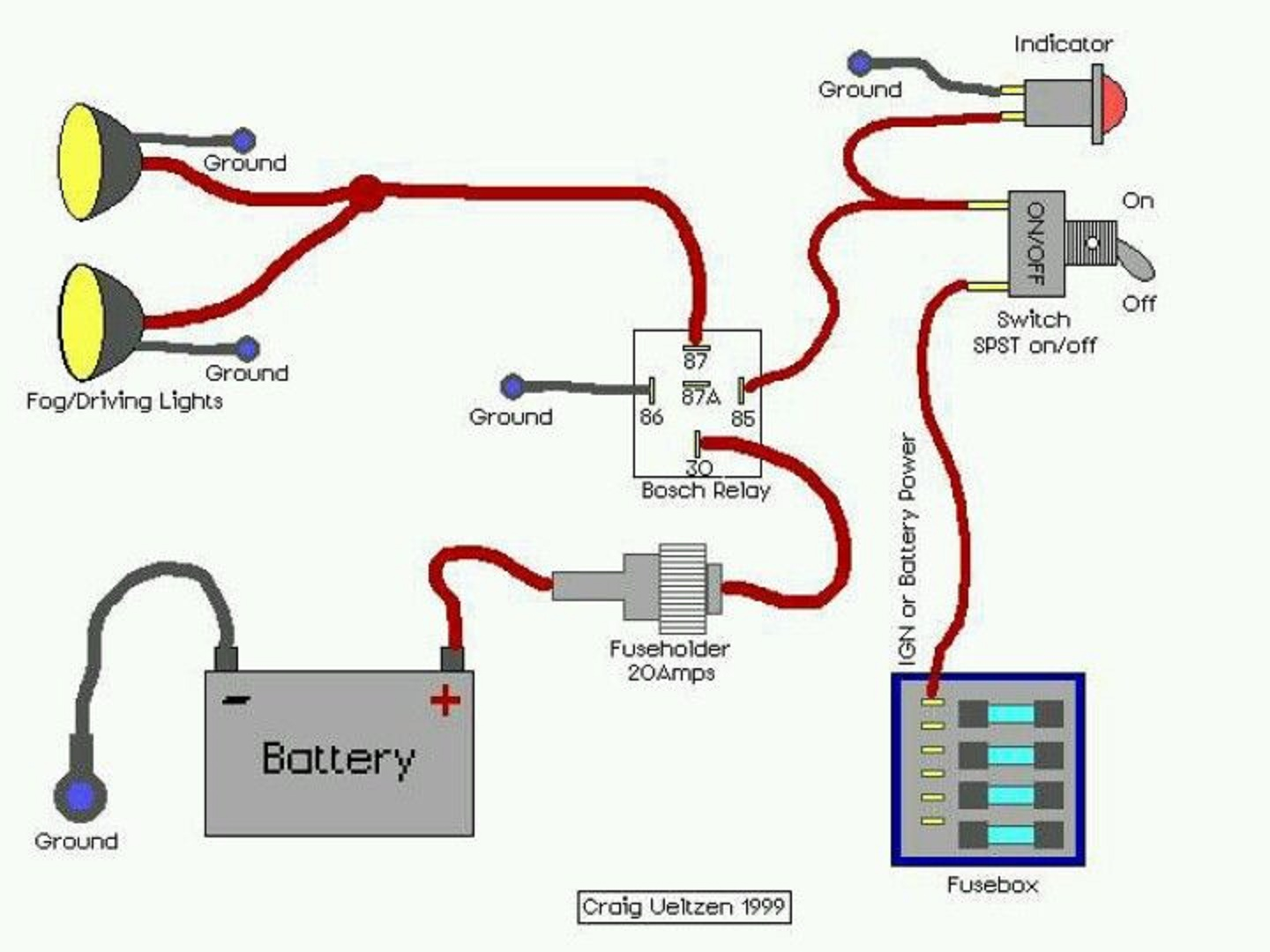 medium resolution of electrical and electronics engineering wiring diagram for off road off road light switch wiring off road lights wiring