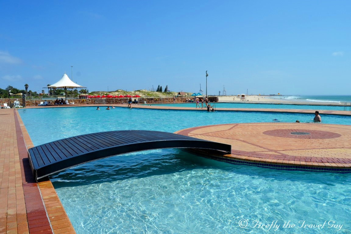 Port Elizabeth Daily Photo Taking A Swim At The Macarthur Baths