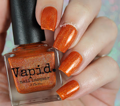 Vapid Nail Lacquer Ablaze | Fall 2016