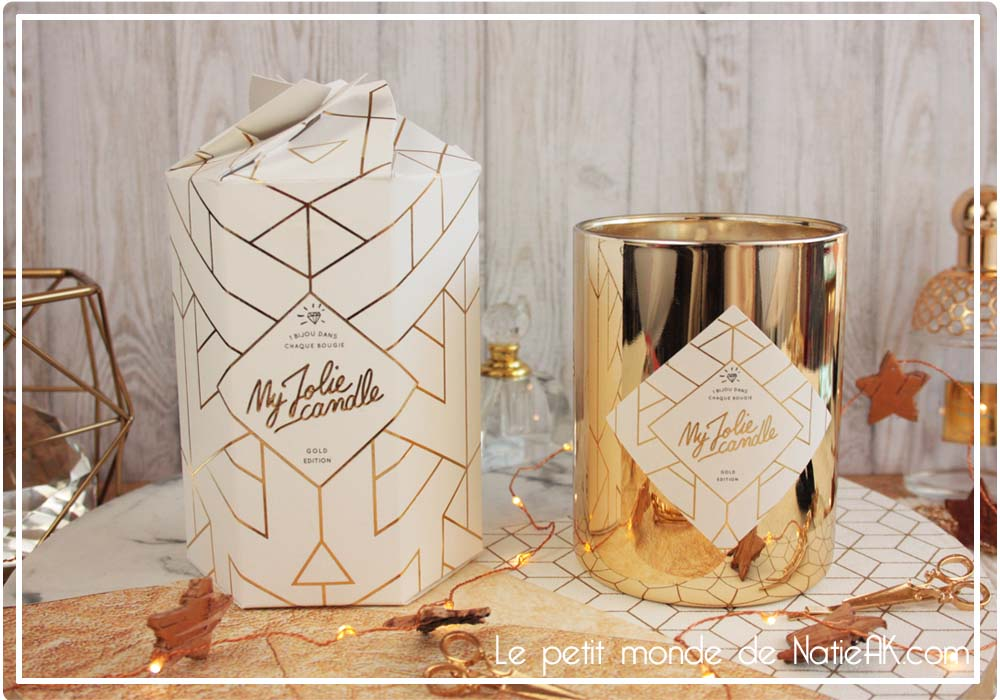 My jolie candle Gold Edition