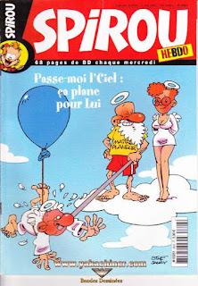 Spirou Hebdo, ça plane pour lui, numéro 3603, année 2007