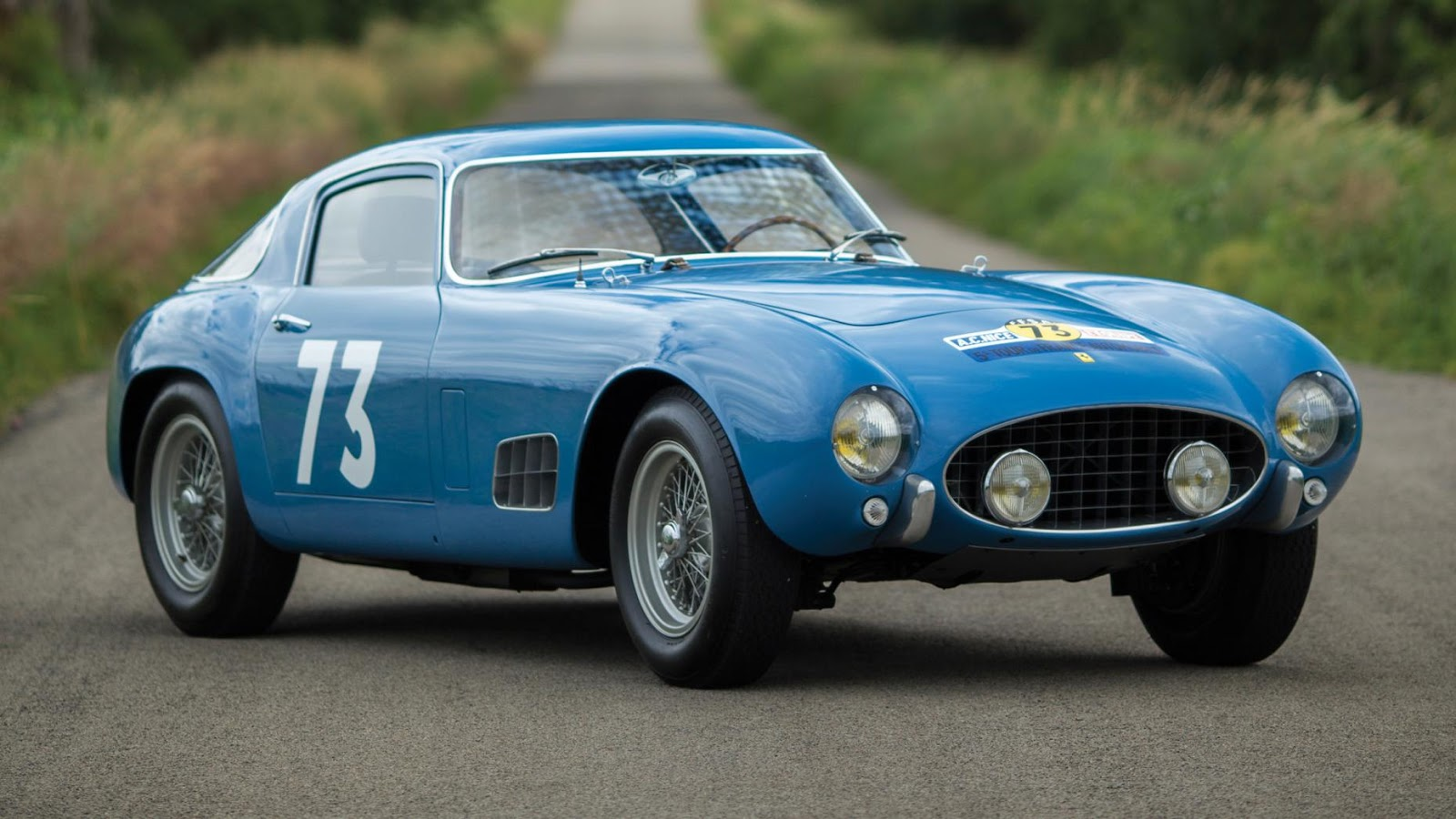 $13,200,000 – 1956 Ferrari 250 GT LWB Berlinetta 'Tour de France'