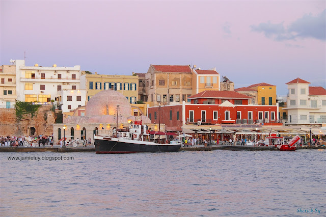 Venetian Harbour, Chania, Crete, Greece