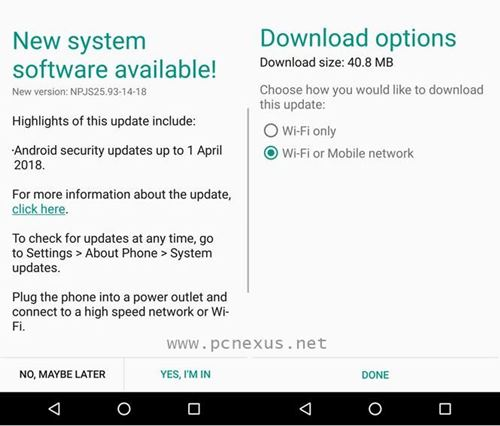 Moto G4 Plus Gets April 2018 Security Patch Update