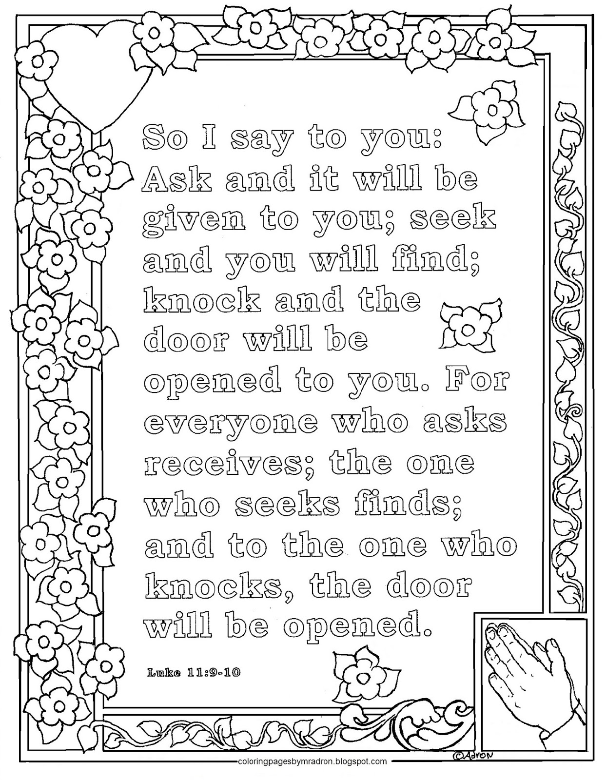 luke 19 10 coloring pages - photo#45