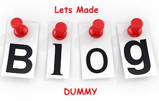 cara membuat blog dummy