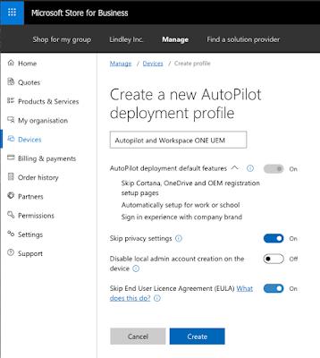 Microsoft Autopilot with VMware Workspace ONE UEM - VMware