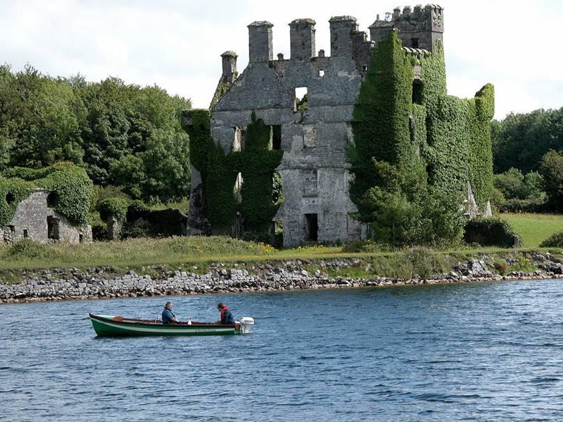 galway castle, castle galway, menlo castle, abandoned castles ireland, abandoned castle in ireland, galway castle ireland