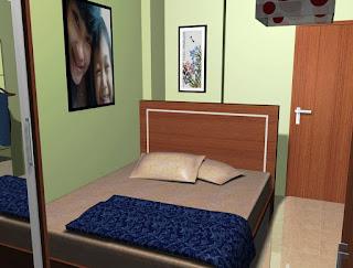 Desain Kamar Tidur Anak Ukuran Kecil