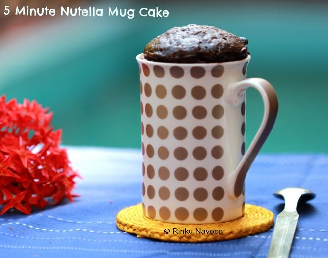 Nutella Mug Cake Uk