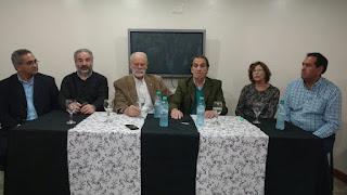 Referentes de varios sectores encabezaron la conferencia, donde hablaron de una fuerza que sigue sumando apoyos.