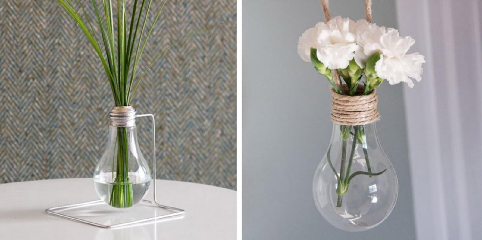 Vasi creativi per fiori e piante idee fai da te e - Vasi di arredamento da interni ...