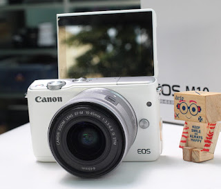 Jual Kamera Mirrorless Canon EOS M10 Bekas